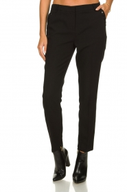 Aaiko |  Classic trousers Parien | black  | Picture 2