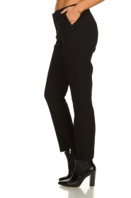 Aaiko |  Classic trousers Parien | black  | Picture 4