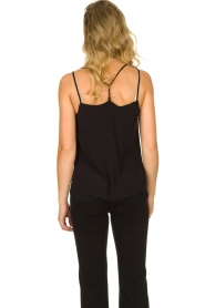 Aaiko |  Sleeveless top with lace Vlint | black  | Picture 5