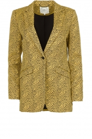 Aaiko | Blazer with print Adeline | yellow  | Picture 1
