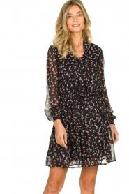 Aaiko   Dress with print Ceska   black    Picture 2
