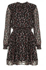 Aaiko | Dress with print Ceska | black  | Picture 1