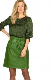 Aaiko |  Animal print blouse Medelin | animal print  | Picture 2