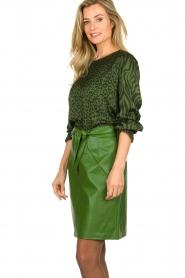Aaiko |  Animal print blouse Medelin | animal print  | Picture 4