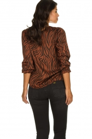 Aaiko |  Top with panther and zebra print Medelin | animal print  | Picture 5