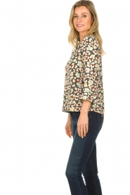 Aaiko |  Blouse with print Mardez | multi  | Picture 3