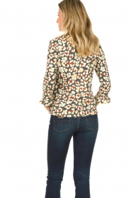 Aaiko |  Blouse with print Mardez | multi  | Picture 4