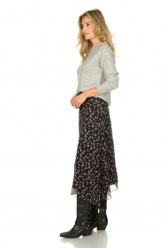 Aaiko | Skirt with print Caya | black  | Picture 4