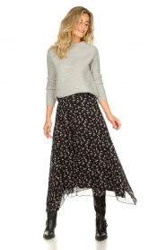 Aaiko | Skirt with print Caya | black  | Picture 2