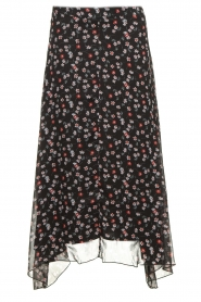 Aaiko | Skirt with print Caya | black  | Picture 1