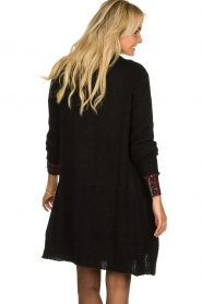 Aaiko |  Knitted  cardigan | black  | Picture 5