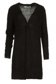 Aaiko |  Knitted  cardigan | black  | Picture 1