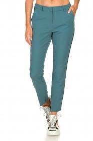 Aaiko |  Classic trousers Parien | blue  | Picture 2