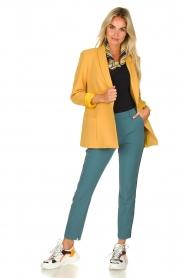 Aaiko |  Classic trousers Parien | blue  | Picture 3