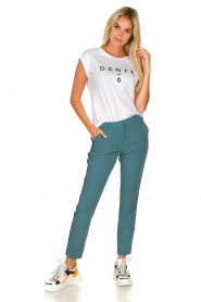 Aaiko |  Classic trousers Parien | blue  | Picture 6