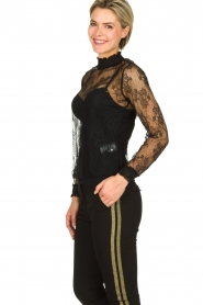 Aaiko | Lace top Sarah | black  | Picture 3