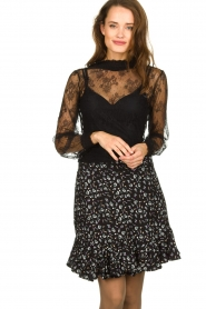 Aaiko | Lace top Sarah | black  | Picture 2