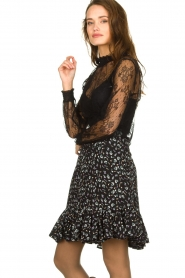 Aaiko | Lace top Sarah | black  | Picture 4