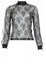Aaiko | Lace top Sarah | black  | Picture 1