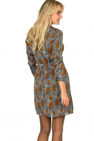 Aaiko | Dress with Fay Camo | blue  | Picture 6