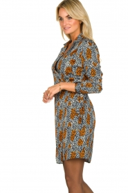 Aaiko | Dress with Fay Camo | blue  | Picture 5
