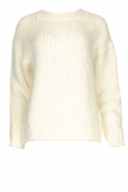 Aaiko | Knitted sweater Trilly | white  | Picture 1