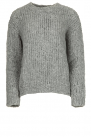 Aaiko | Knitted sweater Trilly | grey  | Picture 1