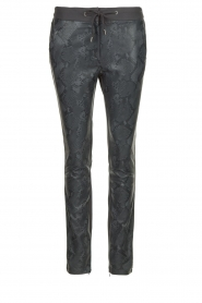 Aaiko | Faux leather pants Sosa | animal print  | Picture 1
