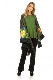 Aaiko |  Lightweight sweater Milan | green  | Picture 6