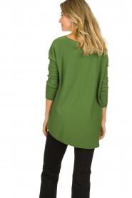 Aaiko |  Lightweight sweater Milan | green  | Picture 5