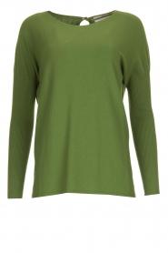 Aaiko |  Lightweight sweater Milan | green  | Picture 1