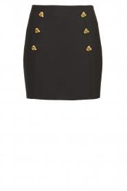 ELISABETTA FRANCHI | Skirt Marloes | black  | Picture 1