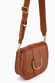 ELISABETTA FRANCHI | Faux leather shoulder bag Anita | brown  | Picture 5
