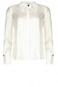 ELISABETTA FRANCHI | Silk blouse Meredith | white  | Picture 1