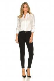 ELISABETTA FRANCHI | Silk blouse Meredith | white  | Picture 3