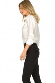 ELISABETTA FRANCHI | Silk blouse Meredith | white  | Picture 5