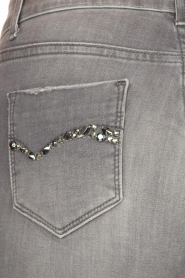 Fracomina | Skinny jeans Louise | grey  | Picture 7