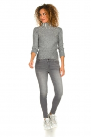 Fracomina | Skinny jeans Louise | grey  | Picture 3