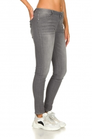 Fracomina | Skinny jeans Louise | grey  | Picture 5