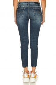 Fracomina | Studded jeans with ripped details Romy | blue   | Picture 5