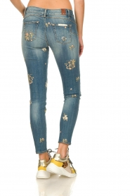 Fracomina | Skinny jeans Babette | blue  | Picture 5