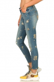 Fracomina | Skinny jeans Babette | blue  | Picture 4