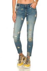 Fracomina | Skinny jeans Babette | blue  | Picture 2