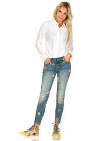 Fracomina | Skinny jeans Babette | blue  | Picture 3