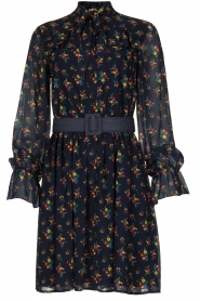 Fracomina |  Floral dress Polly | blue  | Picture 1