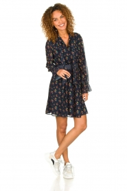 Fracomina |  Floral dress Polly | blue  | Picture 3