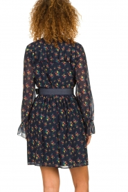 Fracomina |  Floral dress Polly | blue  | Picture 5