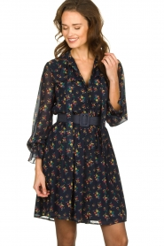 Fracomina |  Floral dress Polly | blue  | Picture 2