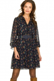 Fracomina |  Floral dress Polly | blue  | Picture 4