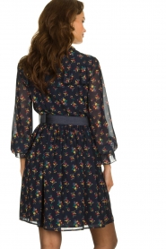 Fracomina |  Floral dress Polly | blue  | Picture 6